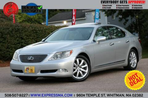 2007 Lexus LS 460 for sale at Auto Sales Express in Whitman MA
