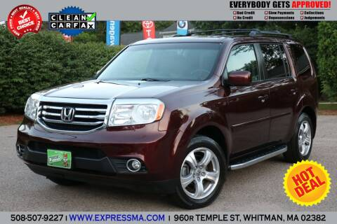 2012 Honda Pilot for sale at Auto Sales Express in Whitman MA