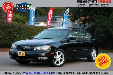 2004 Infiniti I35 for sale at Auto Sales Express in Whitman MA