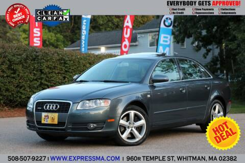 2007 Audi A4 for sale at Auto Sales Express in Whitman MA