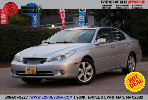 2006 Lexus ES 330 for sale at Auto Sales Express in Whitman MA