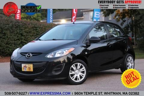 2011 Mazda MAZDA2 for sale at Auto Sales Express in Whitman MA