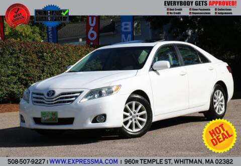 2010 Toyota Camry for sale at Auto Sales Express in Whitman MA
