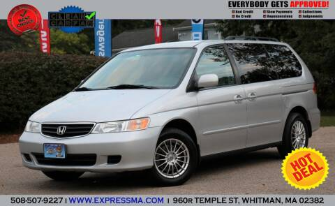 2003 Honda Odyssey for sale at Auto Sales Express in Whitman MA