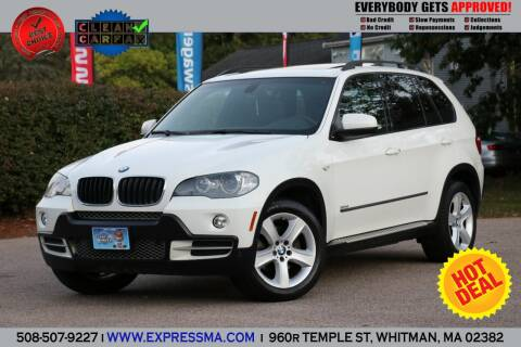 2008 BMW X5 for sale at Auto Sales Express in Whitman MA