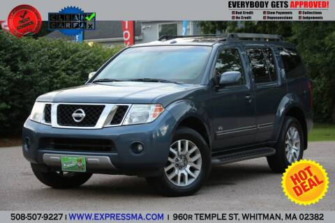 2008 Nissan Pathfinder for sale at Auto Sales Express in Whitman MA