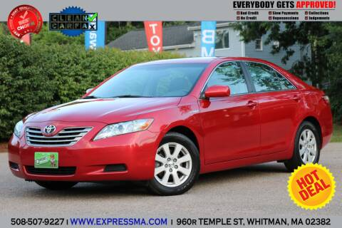 2008 Toyota Camry Hybrid for sale at Auto Sales Express in Whitman MA