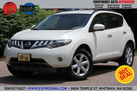 2009 Nissan Murano for sale at Auto Sales Express in Whitman MA