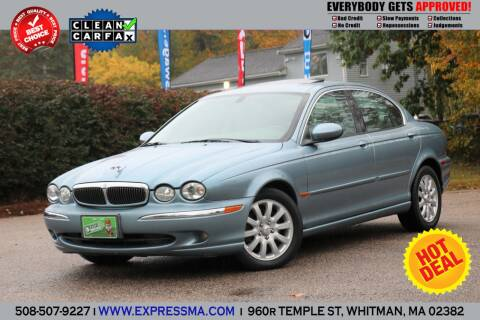 2002 Jaguar X-Type for sale at Auto Sales Express in Whitman MA