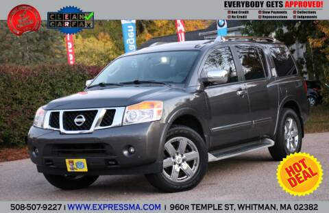2011 Nissan Armada for sale at Auto Sales Express in Whitman MA