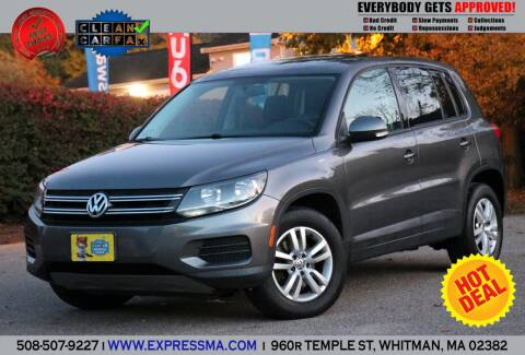 2013 Volkswagen Tiguan for sale at Auto Sales Express in Whitman MA