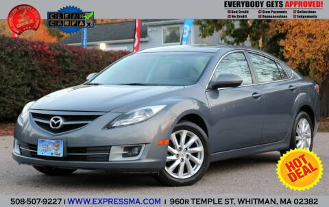 2011 Mazda MAZDA6 for sale at Auto Sales Express in Whitman MA