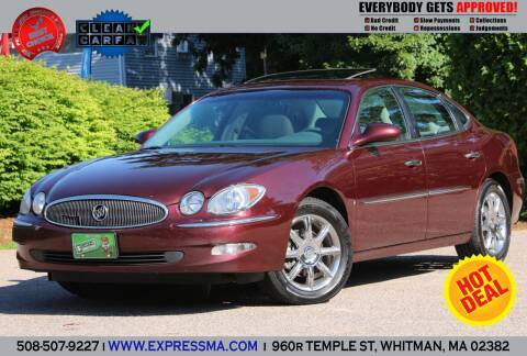 2007 Buick LaCrosse for sale at Auto Sales Express in Whitman MA