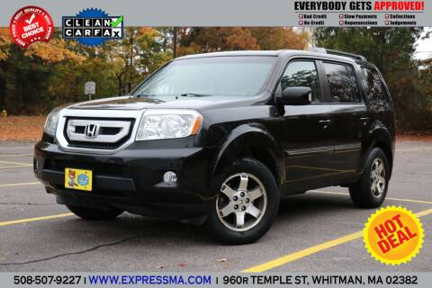 2011 Honda Pilot for sale at Auto Sales Express in Whitman MA