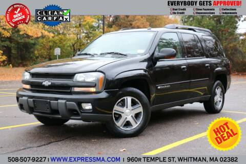 2004 Chevrolet TrailBlazer EXT for sale at Auto Sales Express in Whitman MA