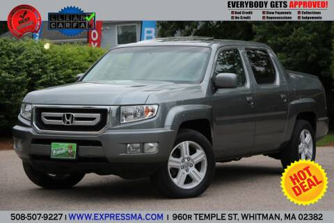 2009 Honda Ridgeline for sale at Auto Sales Express in Whitman MA