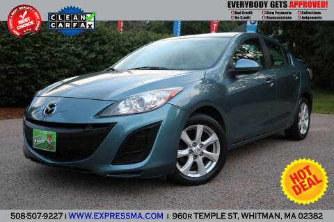 2011 Mazda MAZDA3 for sale at Auto Sales Express in Whitman MA
