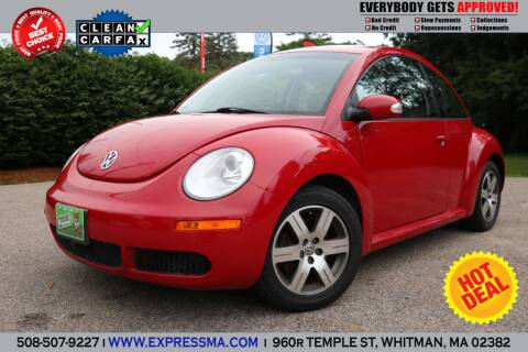 2006 Volkswagen New Beetle for sale at Auto Sales Express in Whitman MA
