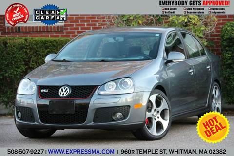 2009 Volkswagen GLI for sale in Whitman, MA