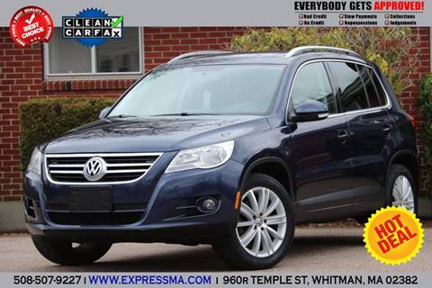 2011 Volkswagen Tiguan for sale in Whitman, MA