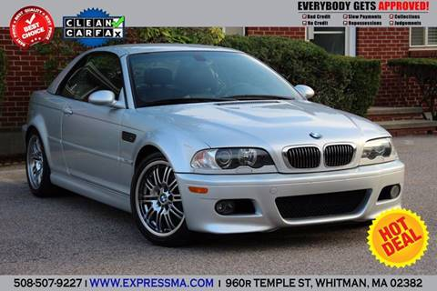 2002 BMW M3 for sale in Whitman, MA