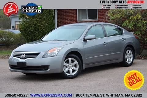 2007 Nissan Altima Hybrid for sale in Whitman, MA