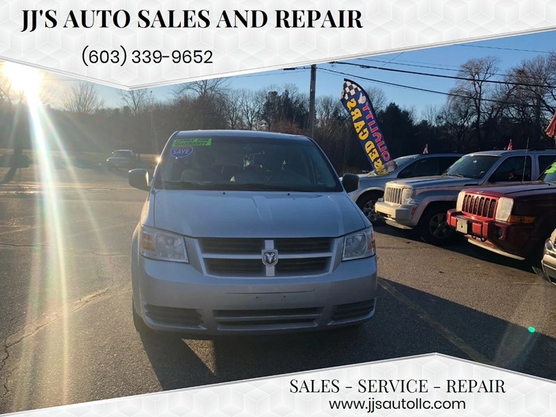 2008 Dodge Grand Caravan Se In Manchester Nh Jj S Auto Sales And