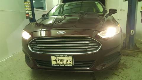 2013 Ford Fusion for sale in Rochester, NY