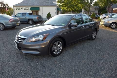 2011 Honda Accord for sale in Highland Park, NJ