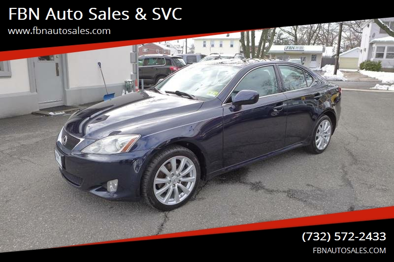 2007 Lexus IS 250 For Sale At FBN Auto Sales U0026 SVC In Highland Park NJ
