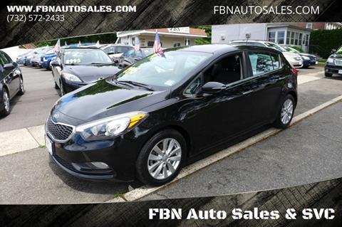 2014 Kia Forte5 for sale at FBN Auto Sales & Service in Highland Park NJ