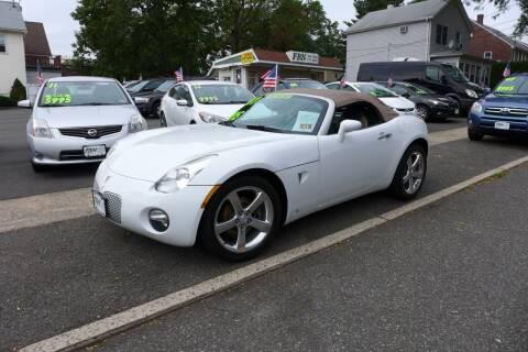 2007 Pontiac Solstice for sale at FBN Auto Sales & Service in Highland Park NJ