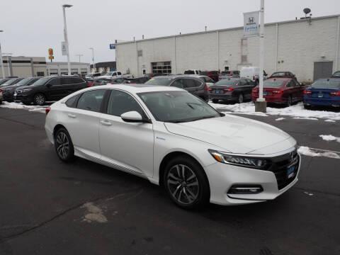 2020 Honda Accord Hybrid EX for sale at BILL KAY HONDA in Bourbonnais IL