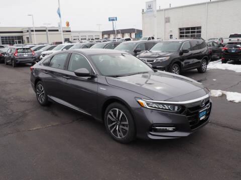 2020 Honda Accord Hybrid EX-L for sale at BILL KAY HONDA in Bourbonnais IL