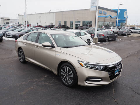2020 Honda Accord Hybrid for sale at BILL KAY HONDA in Bourbonnais IL