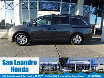 2016 Honda Odyssey for sale in San Leandro, CA