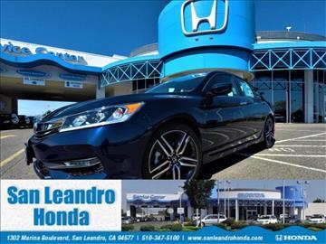 2017 Honda Accord for sale in San Leandro, CA