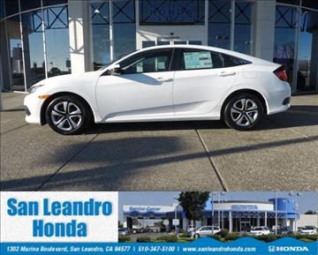 2017 Honda Civic for sale in San Leandro, CA