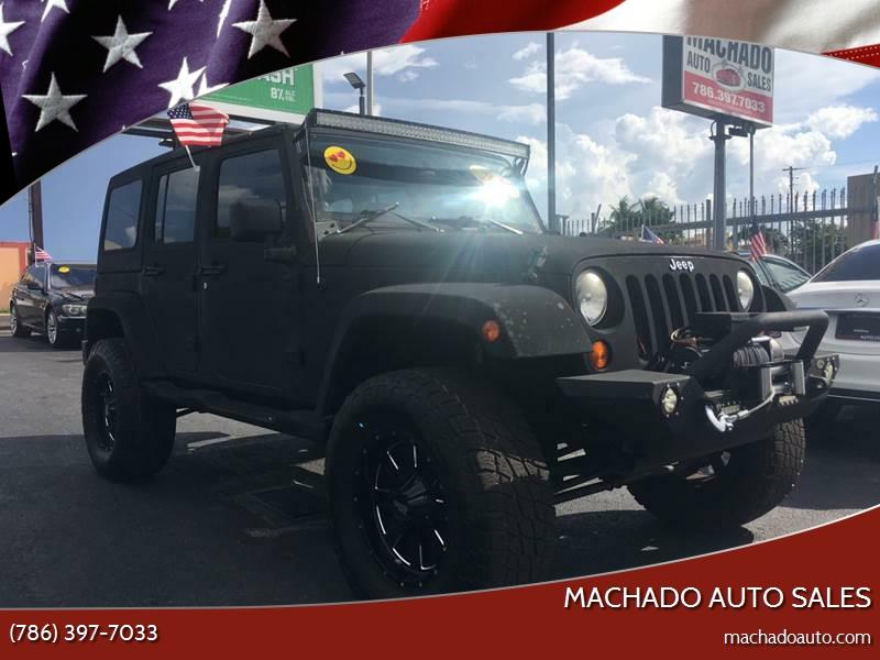 2007 Jeep Wrangler Unlimited For Sale At MACHADO AUTO SALES In Miami FL