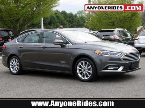 2017 Ford Fusion Energi for sale in Kingsville, MD