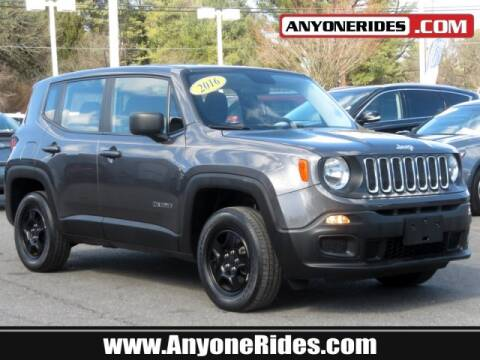 2016 Jeep Renegade for sale at ANYONERIDES.COM in Kingsville MD