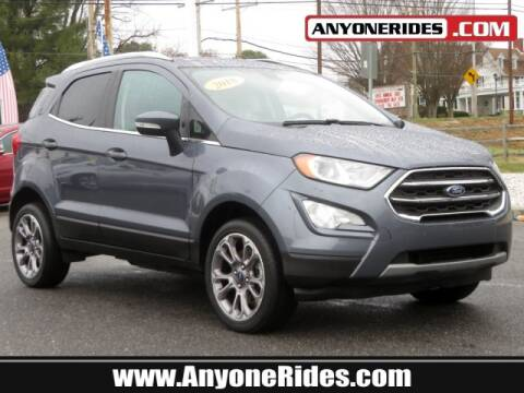 2018 Ford EcoSport for sale at ANYONERIDES.COM in Kingsville MD