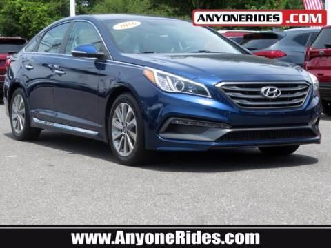 2016 Hyundai Sonata for sale at ANYONERIDES.COM in Kingsville MD