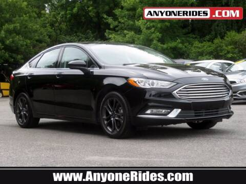 2018 Ford Fusion for sale at ANYONERIDES.COM in Kingsville MD