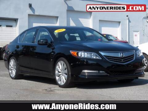 2017 Acura RLX for sale at ANYONERIDES.COM in Kingsville MD
