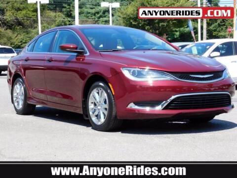 2016 Chrysler 200 for sale at ANYONERIDES.COM in Kingsville MD