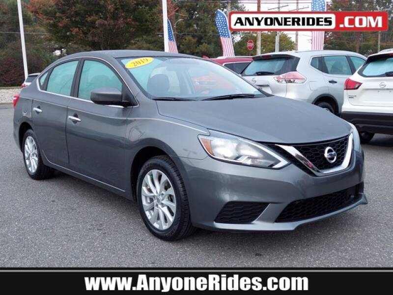 2019 Nissan Sentra for sale at ANYONERIDES.COM in Kingsville MD