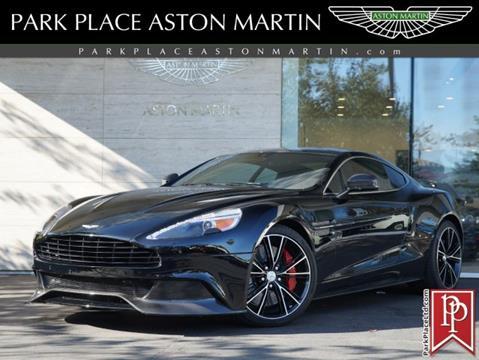2014 Aston Martin Vanquish for sale in Bellevue, WA