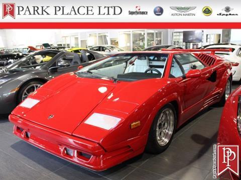 1989 Lamborghini Countach For Sale In Riverhead Ny Carsforsale Com