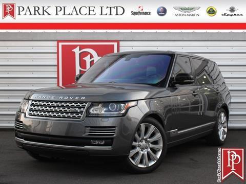 2016 Land Rover Range Rover for sale in Bellevue, WA